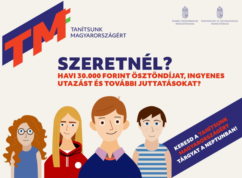 Vedd fel a Tanítsunk Magyarországért tárgyat a Neptunban, és csatlakozz mentorprogramunkhoz!